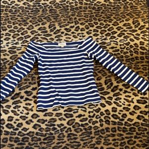 L'Agence -striped long sleeve.